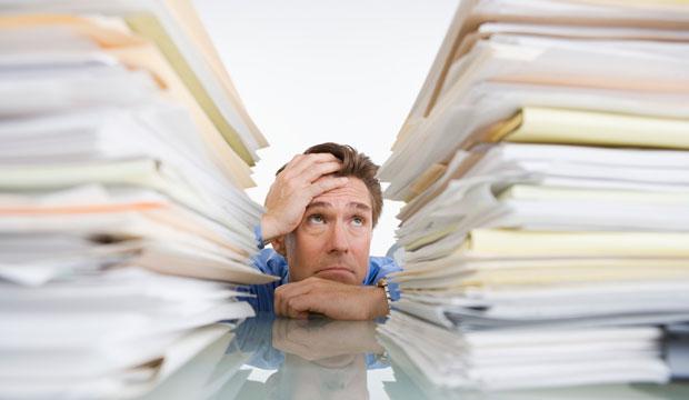 Sondage le stress au travail comment est il per u et for Stress travail